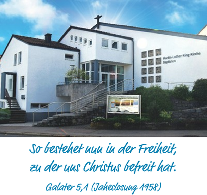 60 Jahre Martin-Luther-King-Kirche